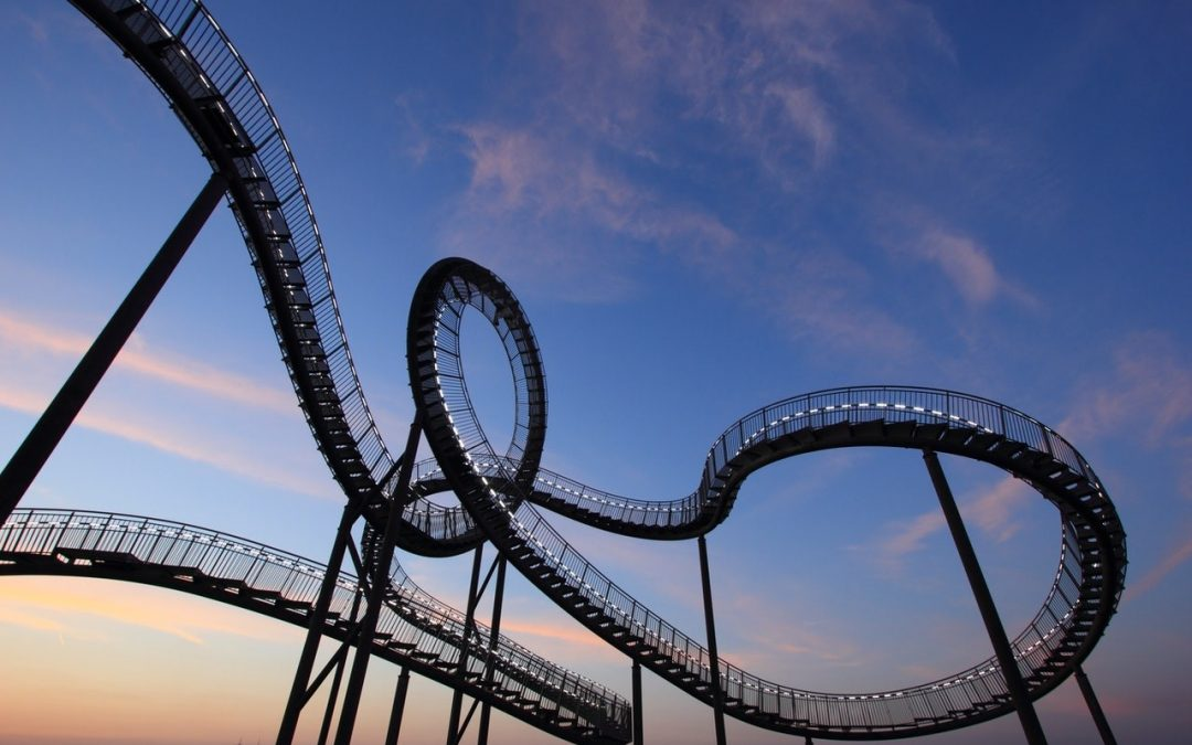 Investing is like riding a rollercoaster.  And it shouldn't be any other way.